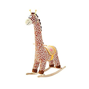 Amazon.com: Caballo balancín de madera para niños de más de ...