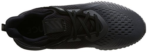 adidas Alphabounce Em, Chaussures de Running Compétition Homme, Bleu, EU Noir (Core Black/Grey Four/Footwear White)