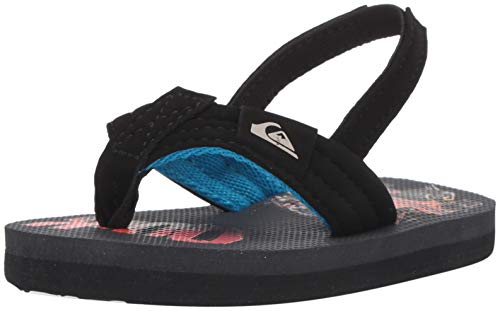 Quiksilver Boys' Molokai Layback Toddler Sandal Black/Grey/RED for sale  Delivered anywhere in Canada