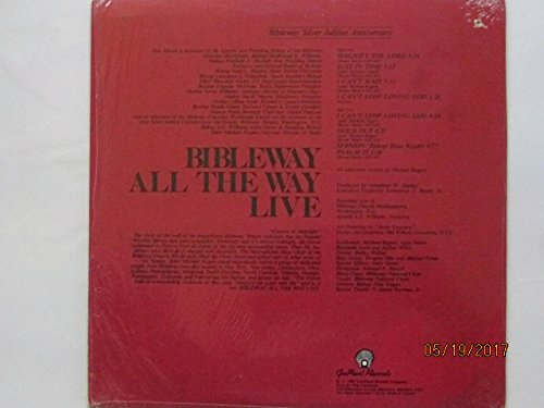 Silver Jubilee Anniversary-Bibleway All The Way Live [VINYL LP] by Gospearl