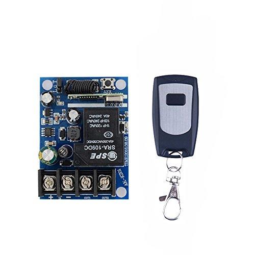 Lejin Wireless Remote Control Switches DC 12V-48V 40A Relay Wide Voltage Receiver 12V 24V Receiver Transmitter 3000W Remote Controller high power remote control control light control motor by Lejin (Image #8)