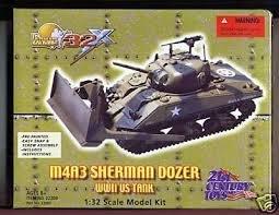 (M4A3 Sherman Dozer, WW2 Tank)