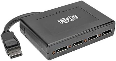 Tripp Lite 4-Port DisplayPort Multi Stream Transport MST Hub