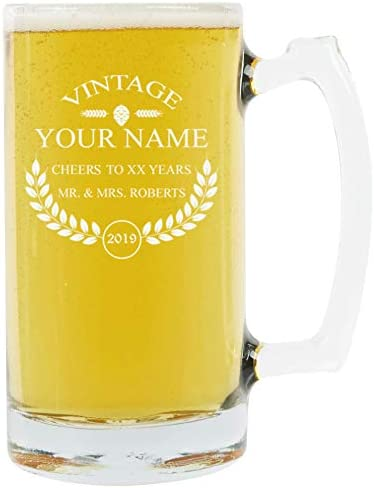 A Personalized Beer Mug