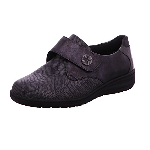 Solidus Women's 2950620328 Loafer Flats Black aRKQL5nTaG