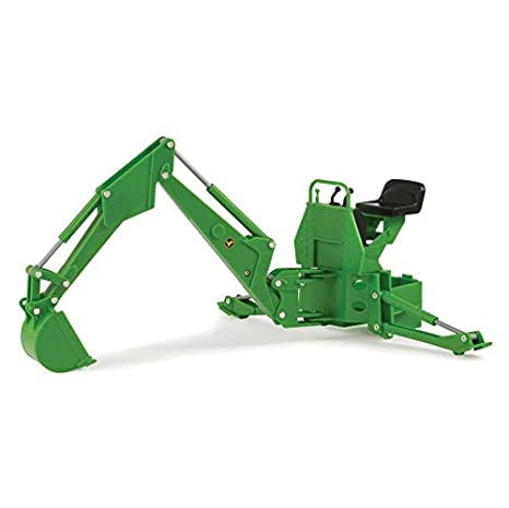 John Deere Backhoe Attachment >> Amazon Com John Deere 1 16th Big Farm Backhoe Attachment Toys Games