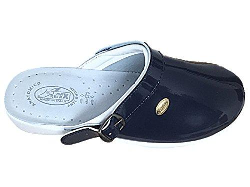 Foster Footwear Women's Max Relax Clog Col Blu vYuUAC
