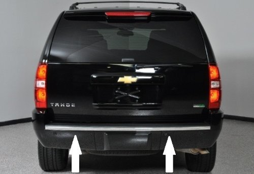 Chevy Tahoe//Suburban Chrome Bumper Trim Molding 07-14 08 09 10 11 12 13 2007 2008 2009 2010 2011 2012 2013 2014