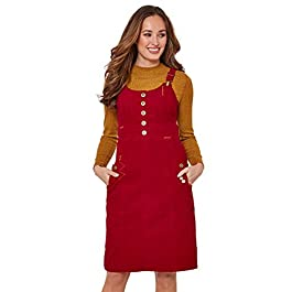 Joe Browns Women's Our Favourite Cord Pinafore Dress
