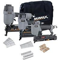 NuMax 3-Piece Pneumatic Finish Combo Kit
