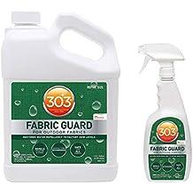 303 Fabric Guard Stain Protector Treatment, 1 Gallon & 32 Ounce Spray Bottle