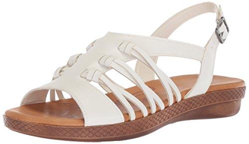 White Easy Sandal Flat Madbury Street Women's HO4q4PUB