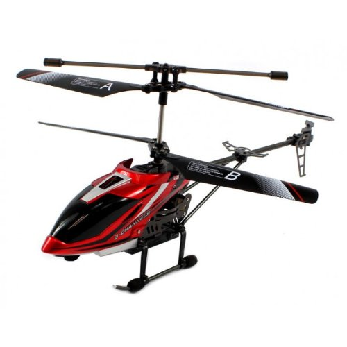 Electric Full Function Metal Alloy 3.5CH GYRO HD Video Camera RTF RC Helicopter Remote Control RC Helicopter ()