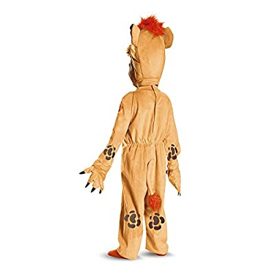 Disney Junior Kion Lion Guard Deluxe Toddler Boys' Costume: Toys & Games