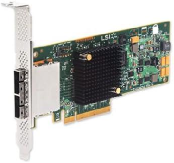 LSI SAS9207-8E Logic SGL SAS PCIE 12//3.3V CTLR 8Port Ext 6GB//S SATA Plus SAS