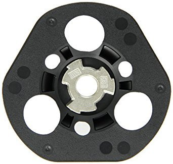115mm Avos/Easy View delta shaped sanding and surface blending discs with holes (P40) Norton
