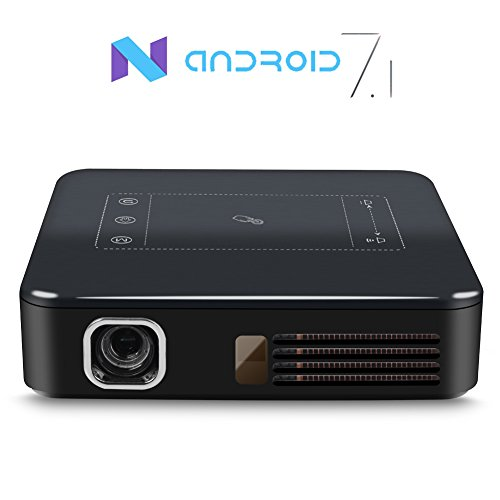 Yuancin 4k Led Mini Android 7 1 Portable Dlp Home Theater