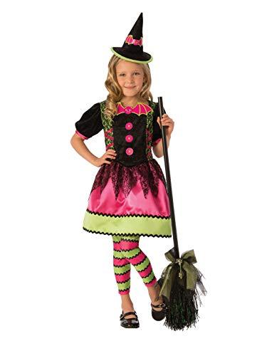 Rubie's Bright Witch Child's Costume Dress, Medium ()