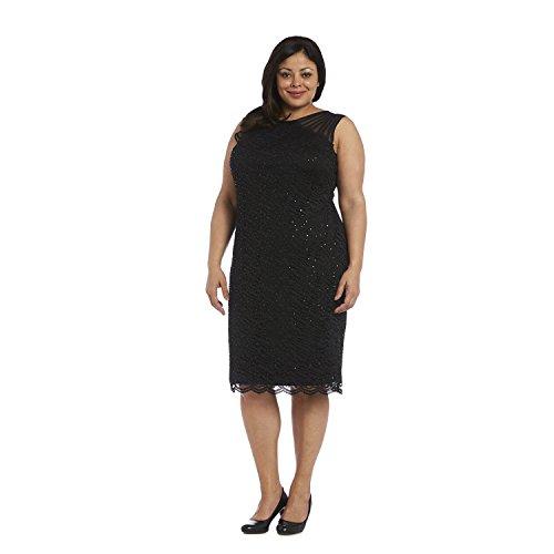 R&M Richards Modest Short Mother of Bride Dress Plus Size