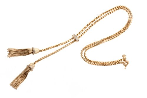 Dazzle flash Chic Tassel Necklace Statement Necklaces, used for sale  Delivered anywhere in USA