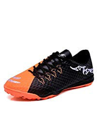 No.66 Town Men's Women's TF Soccer Shoes Indoor Training AG Breathable Cleats for Children