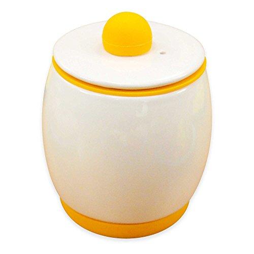 Egg-Tastic Ceramic Microwave Egg Cooker and Poacher