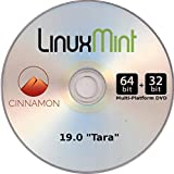 Linux Mint 19 LATEST RELEASE - Cinnamon - Install / Live OS ( 32/64 bit combo DVD)