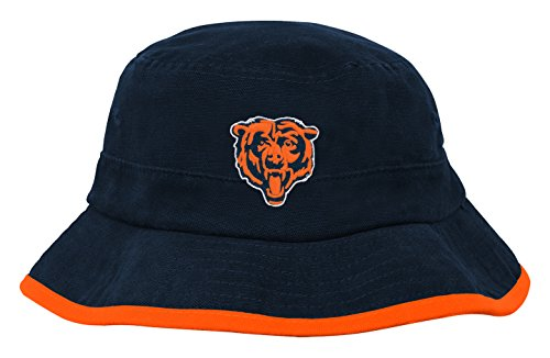 NFL Infant Team Bucket Hat-Deep Obsidian -1 Size, Chicago Bears Chicago Bears Infant Apparel