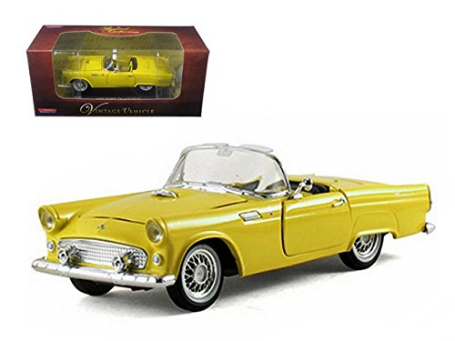 1955 Ford Thunderbird Convertible (1955 Ford Thunderbird Convertible Yellow 1/32 by Arko Products 05521)