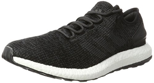 adidas Pureboost, Zapatillas de Running Para Hombre, Negro (Core Black/Dgh Solid Grey/Core Black), 48 EU