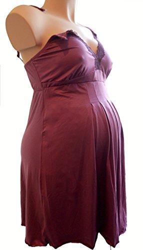 NEW Luxe Maternité Allaitement Sexy Nuisette avec Drop Down Clip et ouverture latérale pour pour poitrine