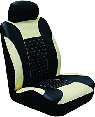 Type S Tan Faux Leather Seat Cover (Rally Sport) SC54704-6