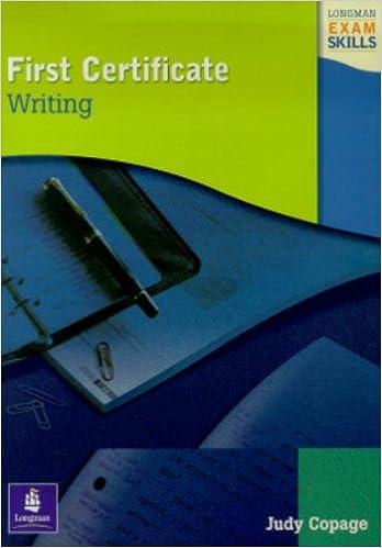 Exam Skills First Certificate Writing