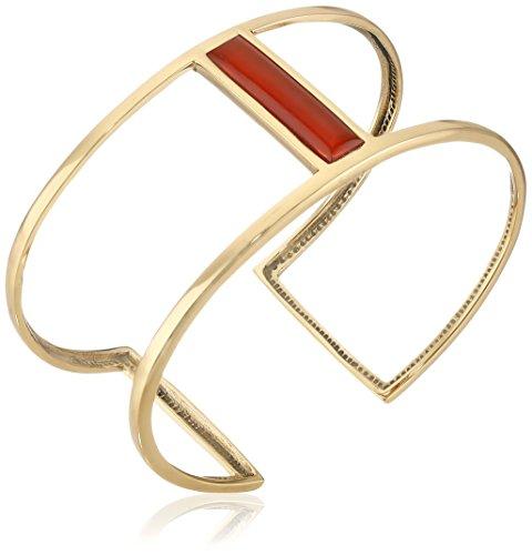 Barse Bronze and Carnelian Cuff Bracelet Bronze Cuff Bracelet