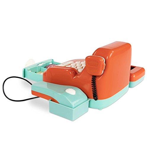 41Bdke fhVL - Battat Toy Cash Register for Kids (26 pieces)