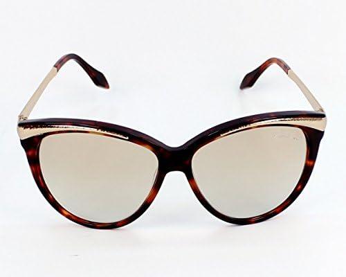 Amazon.com: Roberto Cavalli anteojos de sol Havana degradado ...