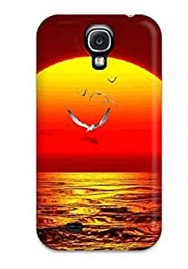 linJUN FENGPerfect Water Animated Nature Case Cover Skin For Galaxy S4 Phone Case