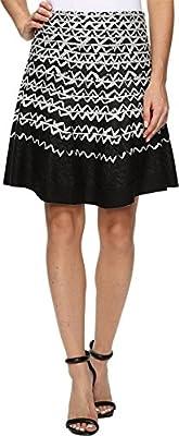 NIC+ZOE Womens Geo Chic Twirl Skirt