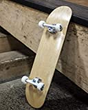 Braille Skateboarding Blank Complete Pro Skateboard Sold by Aaron Kyro 8.0 Deck - Professional Quality Skateboard Medium Concave. Canadian Maple Double Kick. Trick Skateboard for Beginners.