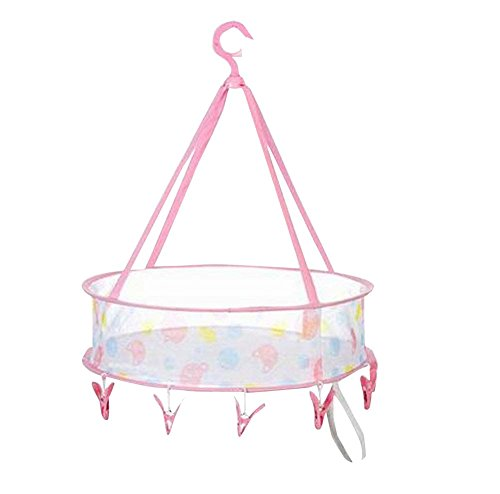 Foldable Travel Clothes Drying Basket Home Using Drying Rack