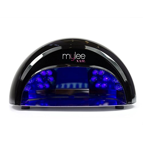 Mylee High Quality LED Lamp 5-finger 12 Watt Dome Lamp, Cures Gel Polish in...