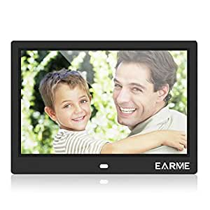 Marco de Fotos electronico Pantalla LCD 10 Pulgadas con Marco Digital de Fotos y Control Remoto: Amazon.es: Electrónica