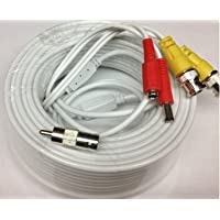 Acelevel Premium Quality 100 Feet Video Power BNC RCA Cable for Swann CCTV Cameras