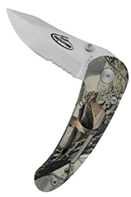 Team Realtree 91-RT50CP Hi-Tech Body Lock, Camo/Stainless