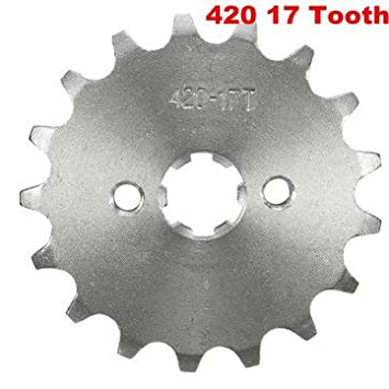 10 420 10//11//12//13//14//15//16//17//18//19 Teeth Counter Sprocket for 70cc 110cc 125cc Motorcycle Motorcycle Maintenance /& Repair Tools