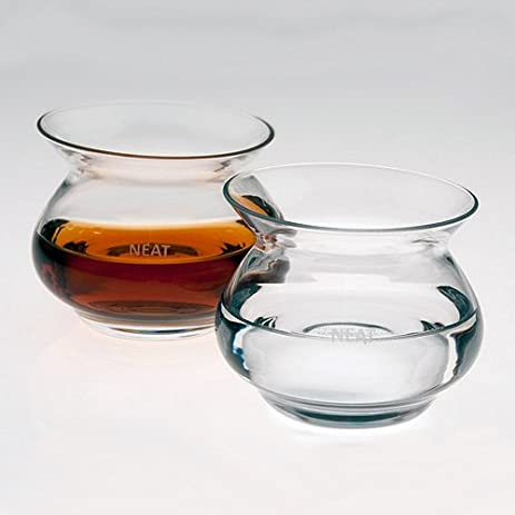 the neat whiskey glass set of 2