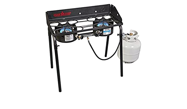 Amazon.com : Camp Chef EX60LW Explorer 2 Burner Outdoor Camping Modular Cooking Stove : Garden & Outdoor