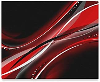 Amazon Com Jtmoving Wall Art Painting Black And Red Abstract