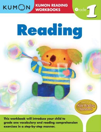 Reading Math Worksheets - Grade 1 Reading (Kumon Reading Workbooks)