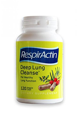 Deep Lung Cleanse 120 Veggie Caps - Herbal Respiratory Supplements for Clearer Breathing | Respiratory System Support